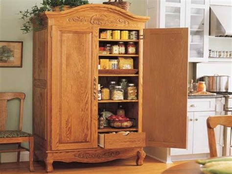 Free Standing Kitchen Pantry Cabinet by Freestanding Kitchen Cabinets
