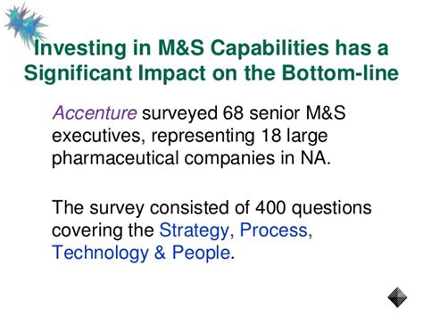 Pharmaceutical Mba Worth It by How Much Are Marketing Sales Capabilities Really Worth