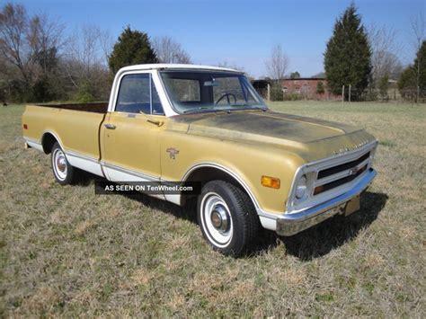 1968 chevrolet truck 1968 chevy truck 50th anniversary edition v8 auto ps pb