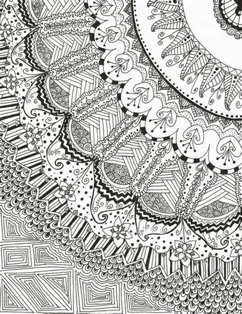 doodle print pattern doodle madness art print poster art pieces and art posters
