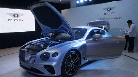bentley jakarta bentley launches third generation continental gt in