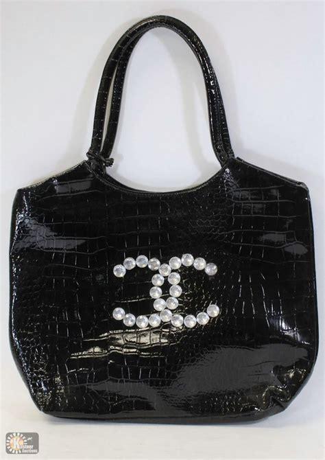Replica Chanel Purse by Replica Chanel Purse Rhinestone Emblem