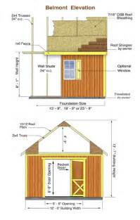 Belmont Shed by Best Barns Belmont 12x24 Wood Storage Shed Or Cabin Kit