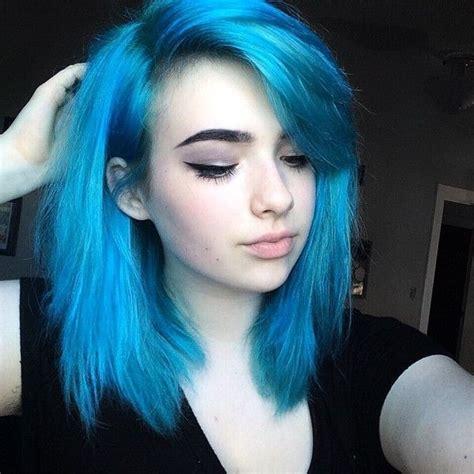 Best 25  Blue hair ideas on Pinterest   Dark blue hair