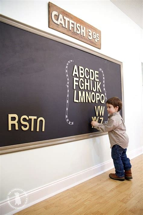chalk paint on mdf how to make a magnetic chalkboard the handmade home