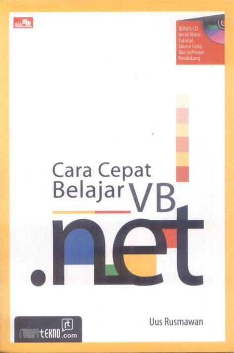 contoh program vb net aplikasi vb net belajar vb
