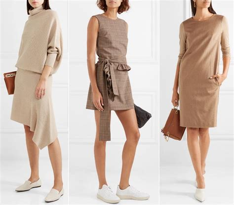 beige color dress what color shoes to wear with a beige dress