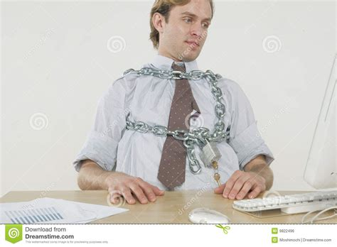 Chained To The Desk by Chained To The Desk Stock Photo Image Of Metal Paper 9822496