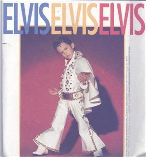 elvis jumpsuit pattern sewing elvis child s costume sewing pattern simplicity 8646 white