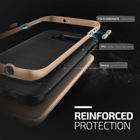 Verus High Pro Shield Samsung Galaxy S7 Edge Shine Go Berkualitas verus high pro shield skal till samsung galaxy s7 edge gold themobilestore