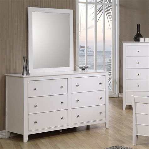 Youth Dresser by Dreamfurniture Youth Dresser Mirror In