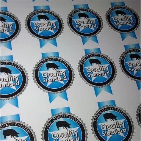 Custom Sticker Label Vinyl White 20 Cm Printlamcut custom adhesive gloss stickers labels diy signwriting