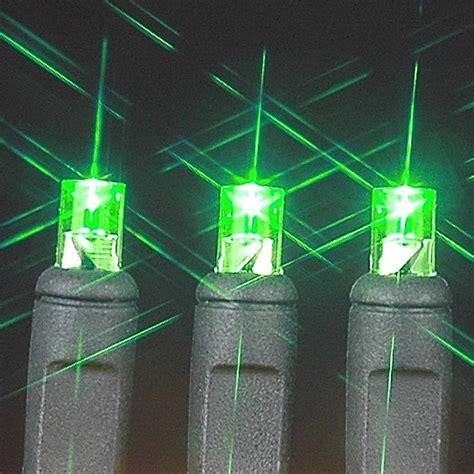 commercial grade led christmas lights wide angle green 100 led christmas lights sets on