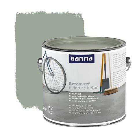 gamma trapverf wit gamma betonverf mat grijs 2 5 l