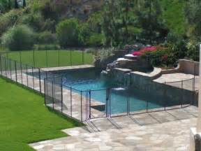 Design For Pool Fencing Ideas Inground Pool Fencing Ideas