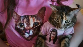 matching and owner shirts owner and cat wear hilarious matching t shirts