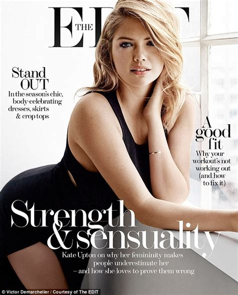 Kate In Magazine I Am A Bit Wacky by Kate Upton In The Edit Shoot As She Admits A Bit Of