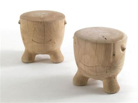 Stool Is Not Solid by The Ildiko Solid Wood Stools By Alejandro Ruiz