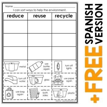 Recycle Worksheets by 1st Grade 187 Reduce Reuse Recycle Worksheets For 1st Grade