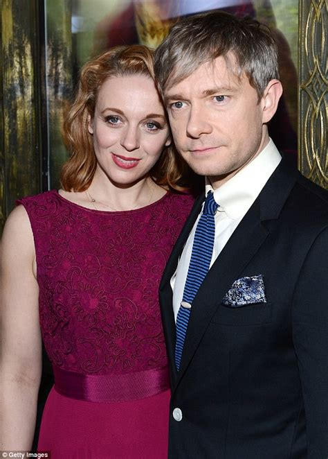 We might have married already martin freeman hints that he has tied