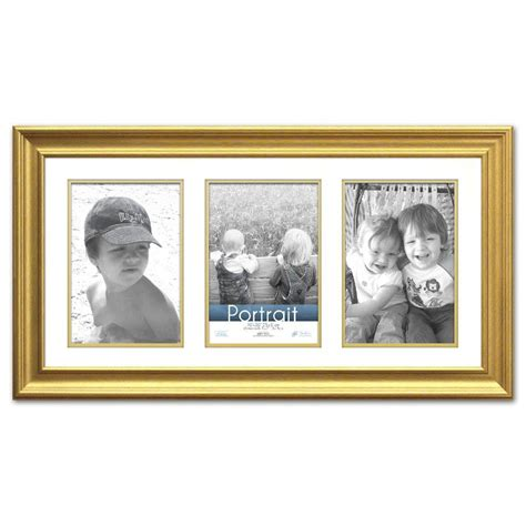 10 X 15 Matted Frames - timeless frames 3 opening 20 in x 10 in gold