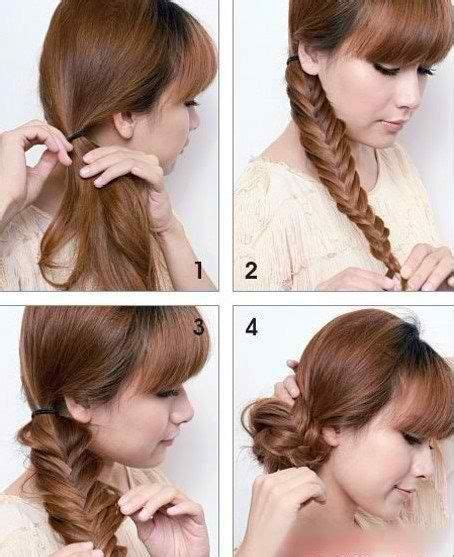 cute hairstyles hot weather lock up fishtail bun and stay cool on pinterest