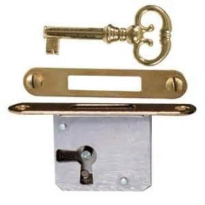 Mortise Cabinet Lock Full Mortise Door Or Drawer Lock Restorers Furniture
