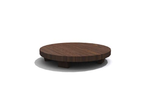 Korean Small Round Coffee Table 3d Model Download Free 3d Korean Coffee Table
