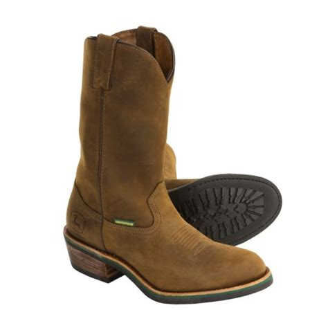 best comfortable work boots for men most comfortable work boots john deere wellington boots