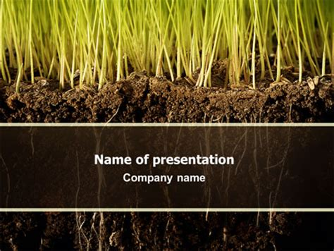 powerpoint themes soil soil presentation template for powerpoint and keynote