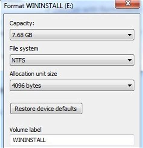 can format fat32 but not ntfs how to format usb drive and memory stick with ntfs