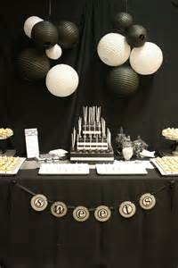 black decorations 35 black and white new year s table decorations