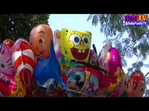 Balon Karakterbalon Gasbola Karakter Hello balloons balon karakter masha boboiboy doraemon ipin upin hiu hello