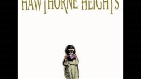 Hawthorne Heights Light Sleeper by Hawthorne Heights If Only You Were Lonely Album