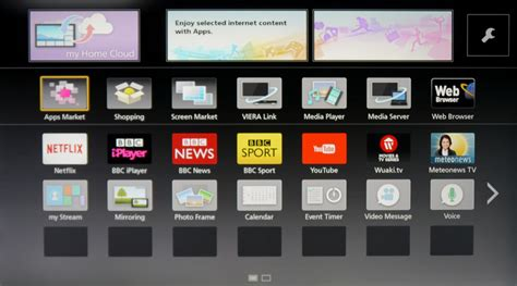 Tv Panasonic Smart panasonic smart tv system 2014 review avforums