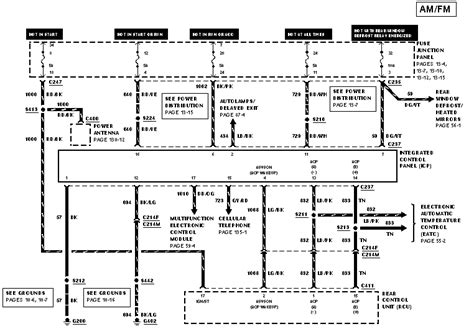1999 mercury wiring diagram i am looking for the wiring diagram for the clock and