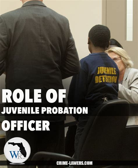 Juvenile Officer by Of Juvenile Probation Officer In Many Cases The