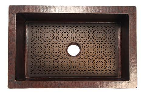 Mosaic Grate For Copper Kitchen Sink Copper Sinks Online Kitchen Sink Grates
