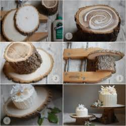 Rustic Wedding Decorations Diy Diy Rustic Wedding Cake Stand Once Wed