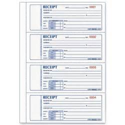 Receipt Template For Pages Receipt Books