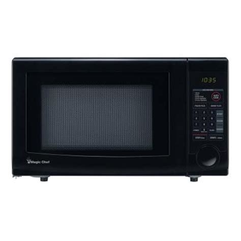 Home Depot Countertop Microwaves by Magic Chef Hmd1110b 1 1 Cu Ft Countertop Microwave