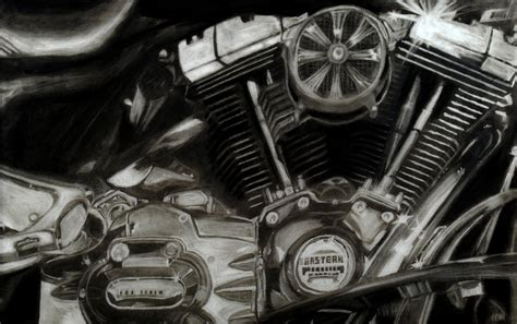 wallpaper engine textures motorcycle engine by kendezi on deviantart