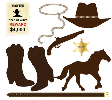imagenes vaqueras en sombra cowboy icons clip art free stock photo public domain