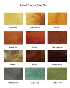 scofield color chart scofield concrete color chart images