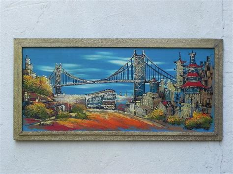 antique lighting san francisco san francisco chinatown cityscape with oakland bay bridge