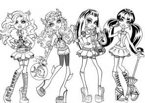 Monster high coloring pages image search results