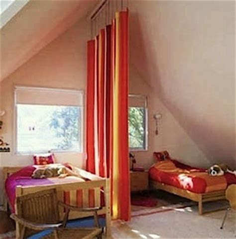 how to divide a room with curtains simple solutions to room privacy problems