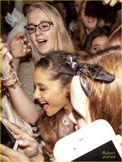 Arianna The Arrival grande amsterdam arrival with frenzied fans
