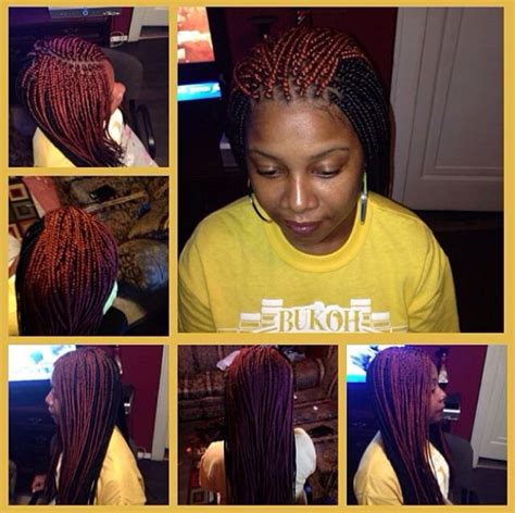 box braids two colors medium two toned box braids w burned ends box braids