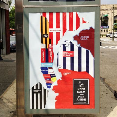 epl usa nbc poster caign epl teams as new york city boroughs